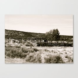 moving ground Canvas Print