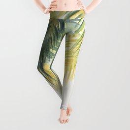 Tropical Palm Leaves Leggings