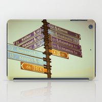 finland iPad Cases featuring Oh, Suomi (Finland) by Kim Ramage