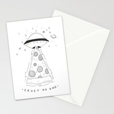 crust no one Stationery Cards