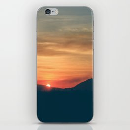 At the End of the Day iPhone Skin