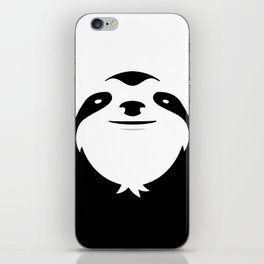 The Majestic Sloth iPhone Skin