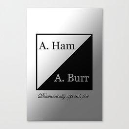 A. Ham / A. Burr Canvas Print