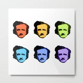 Rainbow Poe Metal Print