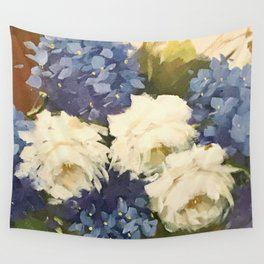 Hortensia Wall Tapestry