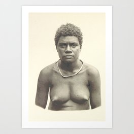 New Guinea and Bismarck  Art Print