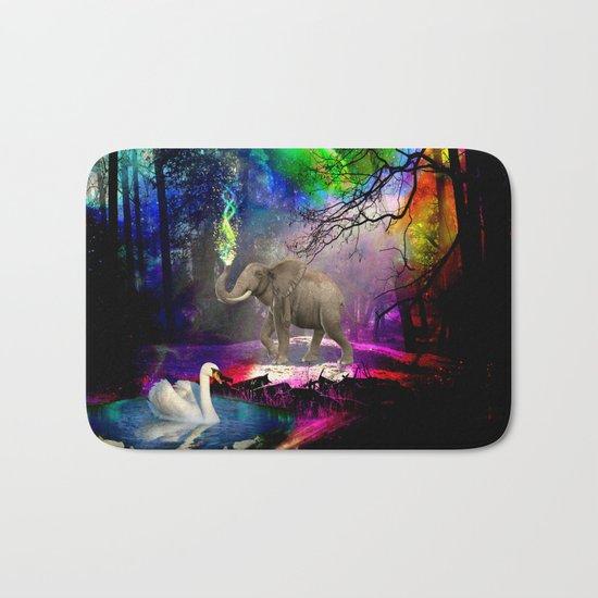 Fantasy forest Bath Mat