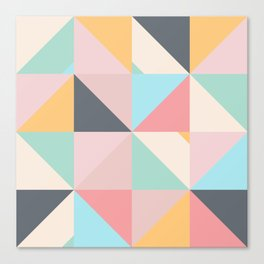 Geometric Pattern XV Canvas Print