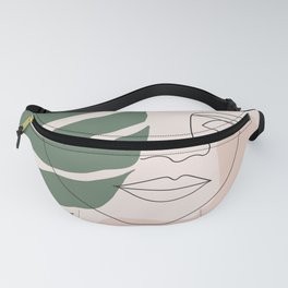 Tropical Woman Fanny Pack