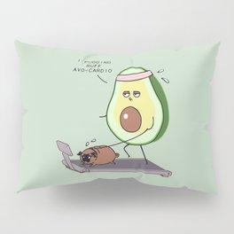 I PUGGING RUFF AVOCARDIO Pillow Sham