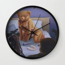 Porn Star Teddy Wall Clock