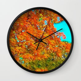 Trees Autumn Impressions #2 Wall Clock