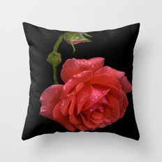 For Rose Throw Pillow