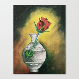 """Beautiful Flower called """"ROSE"""" Canvas Print"""
