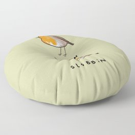Robin Slobbin Floor Pillow