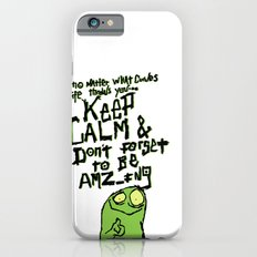 Keep Calm and stay Amazing iPhone 6s Slim Case