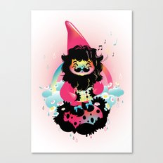 Whistling gnome Canvas Print