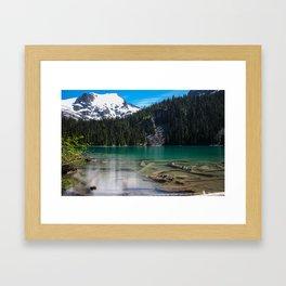 Tranquil  Torquoise Framed Art Print
