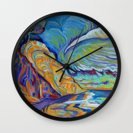 Loon Point, Santa Barbara Wall Clock