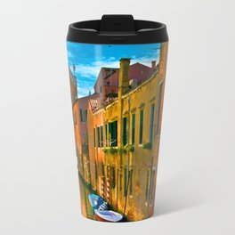 Italy. Venice motorway Travel Mug