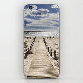 """Cabo de Gata"". Retro serie iPhone Skin"