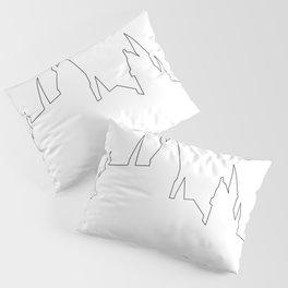 Hogwarts Heartbeat Pillow Sham