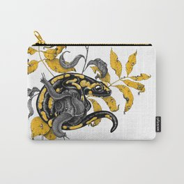 Salamander and Snails Carry-All Pouch