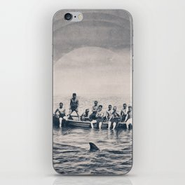 We are brave iPhone Skin