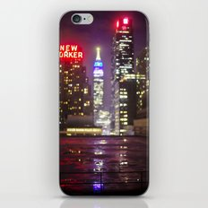 The Empire State Building on a Rainy Night iPhone & iPod Skin