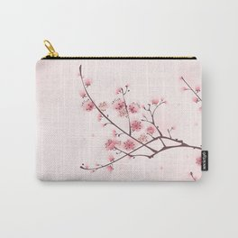 Oriental cheery blossom in spring 006 Carry-All Pouch