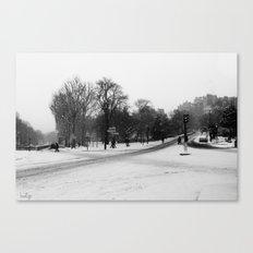 Paris Way Canvas Print