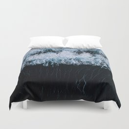 The Color of Water - Seascape Duvet Cover