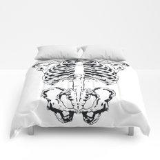 Skeleton #1 Comforters