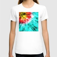 tie dye T-shirts featuring Colorful Tie Dye by Phil Perkins