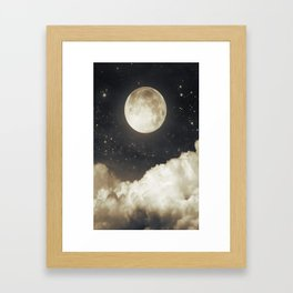 Touch of the moon I Framed Art Print
