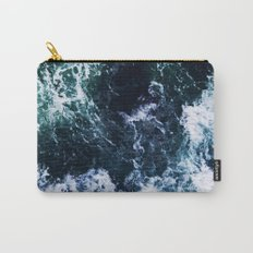 Wild ocean waves Carry-All Pouch
