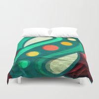 planets Duvet Covers featuring Planets by VessDSign