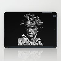 beethoven iPad Cases featuring Beethoven by G_Stevenson