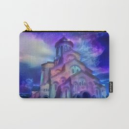 Violet Sky Cathedral of Tbilisi Carry-All Pouch
