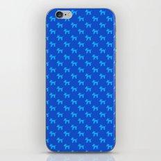 Dogs-Blue iPhone & iPod Skin