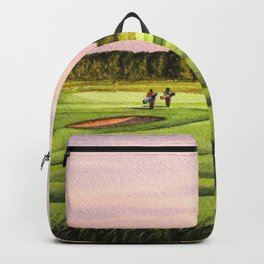 Royal Saint Georges Golf Course 9th Hole Backpack