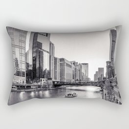 Silver River Rectangular Pillow