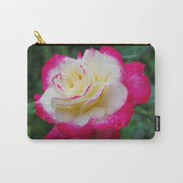 Double Delight Rose - Red and cream beauty Carry-All Pouch