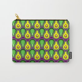 Pixel Avocado Carry-All Pouch