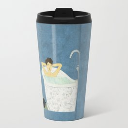 Bathtub Scene Travel Mug