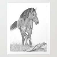 Warhorse Art Print