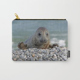Gray seal - Kegelrobbe Carry-All Pouch
