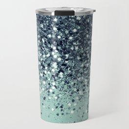 Cali Summer Vibes Lady Glitter #5 #shiny #decor #art #society6 Travel Mug