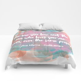 The One You Love Comforters