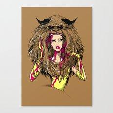 Beautiful Killer Canvas Print